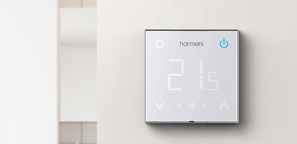 Harmoni wifi enabled thermostat