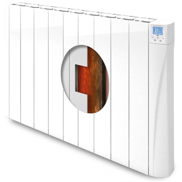 Harmoni Duero+ Wi-Fi clay core electric radiator